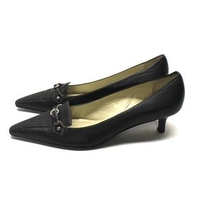3740 Ann Taylor Women 8 M Dress Shoes Kitten Heels